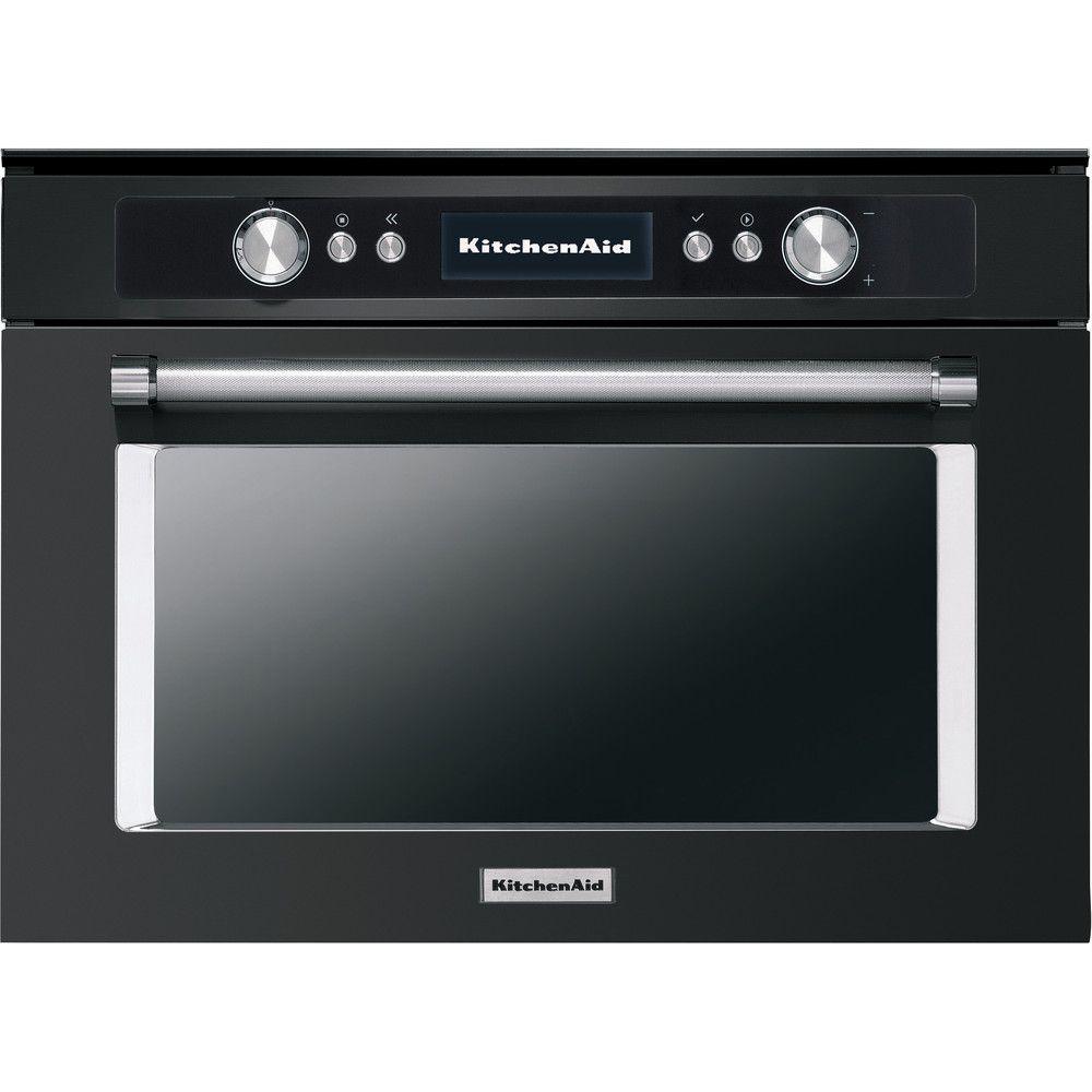 Four a cuisson rapide 45 cm en acier inoxydable noir koccxb45600 kitchenaid compressed