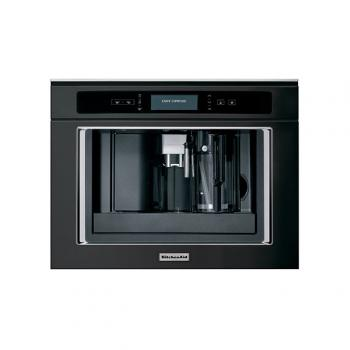 MACHINE A CAFE ENCASTRABLE EN ACIER INOXYDABLE NOIR KQXXXB45600 KITCHENAID